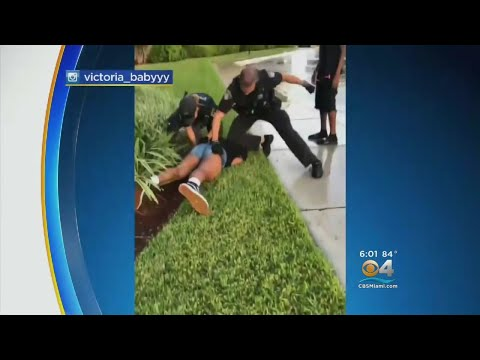 Video Captures Coral Springs Officer Punching Teen