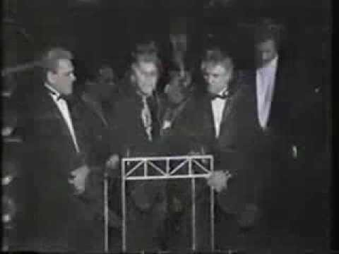 Frankie Valli & the Four Seasons receiving the Rock & Roll ...