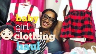 BABY GIRL CLOTHING HAUL | NEWBORN TO 15 MONTHS 👶👶