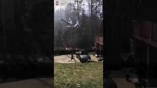 Dunking over a car Video