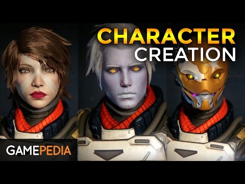 Destiny - An in depth look at Character Creation