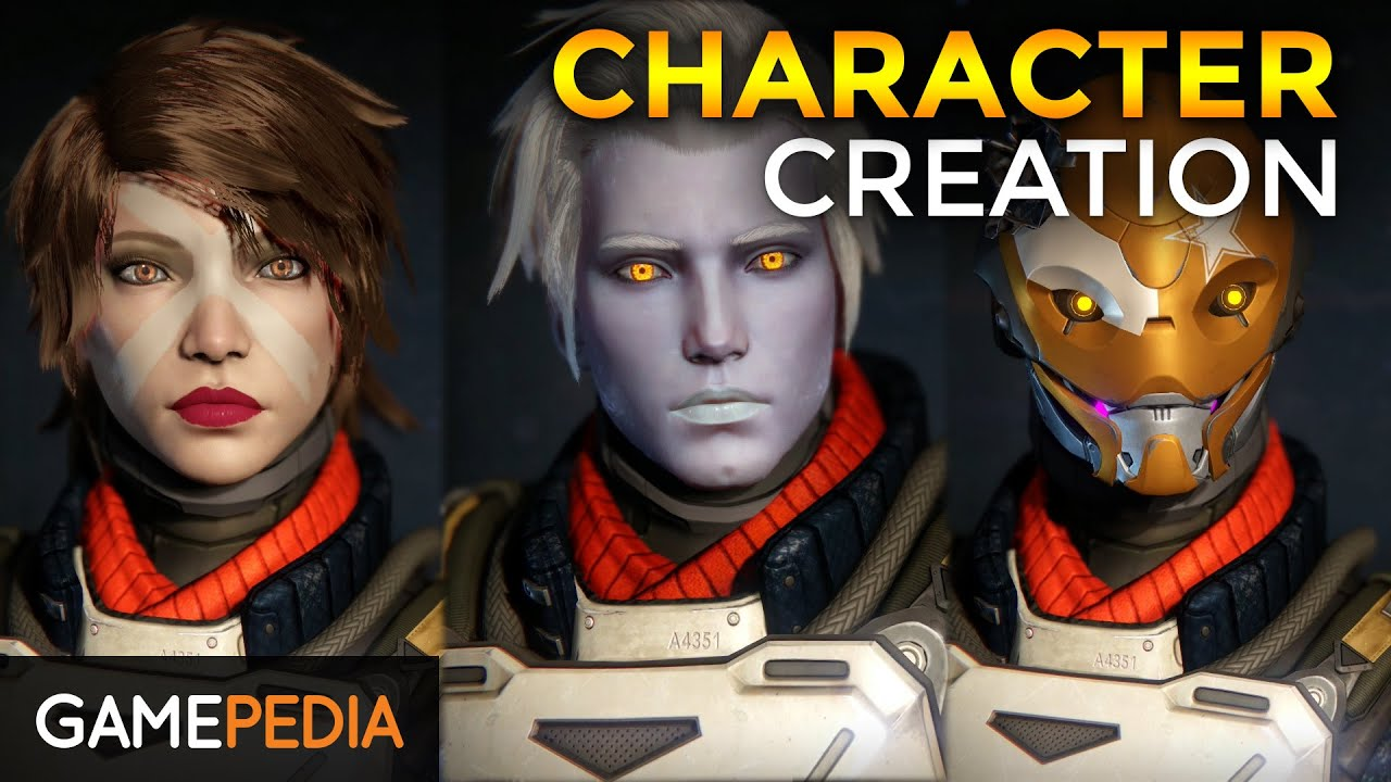 Destiny Character Creation Awoken Female Warlock By Vortainment