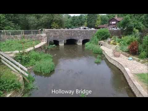 An aerial tour of some of the Malmesbury bridges, July 2017