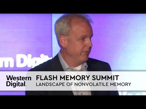 Flash Memory Summit | Future Landscape of Non-volatile Memory with CTO Martin Fink