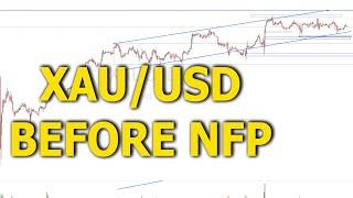 Phương pháp Wyckoff trong Forex: XAU/USD (Vàng) trước NFP tháng 8 | AKVSA
