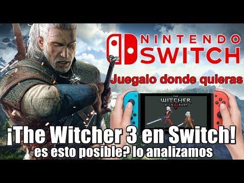 ¡The Witcher 3 en Nintendo Switch! | Es esto realmente posible? lo analizamos thumbnail