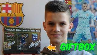 GIFTBOX z BIEDRY Panini FIFA 365 2018 - Unboxing!!!