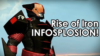 Destiny rise of iron infosplosion: archon's forge, ornaments, exotics & so much more!