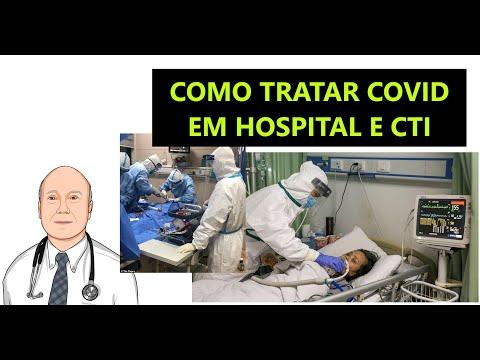 O melhor tratamento da COVID-19 em hospital e CTI. Pessoas sem sintomas, com COVID-19, em navios.