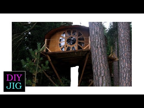 Is a treehouse without a tree  still a treehouse?   DIY JIG
