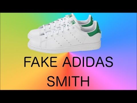 stan smith adidas original vs fake