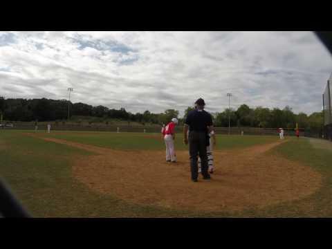 Jacob Orr – Mid Atlantic Red Sox West 14u – Fall 2016 – Sept 25TH – CF Double