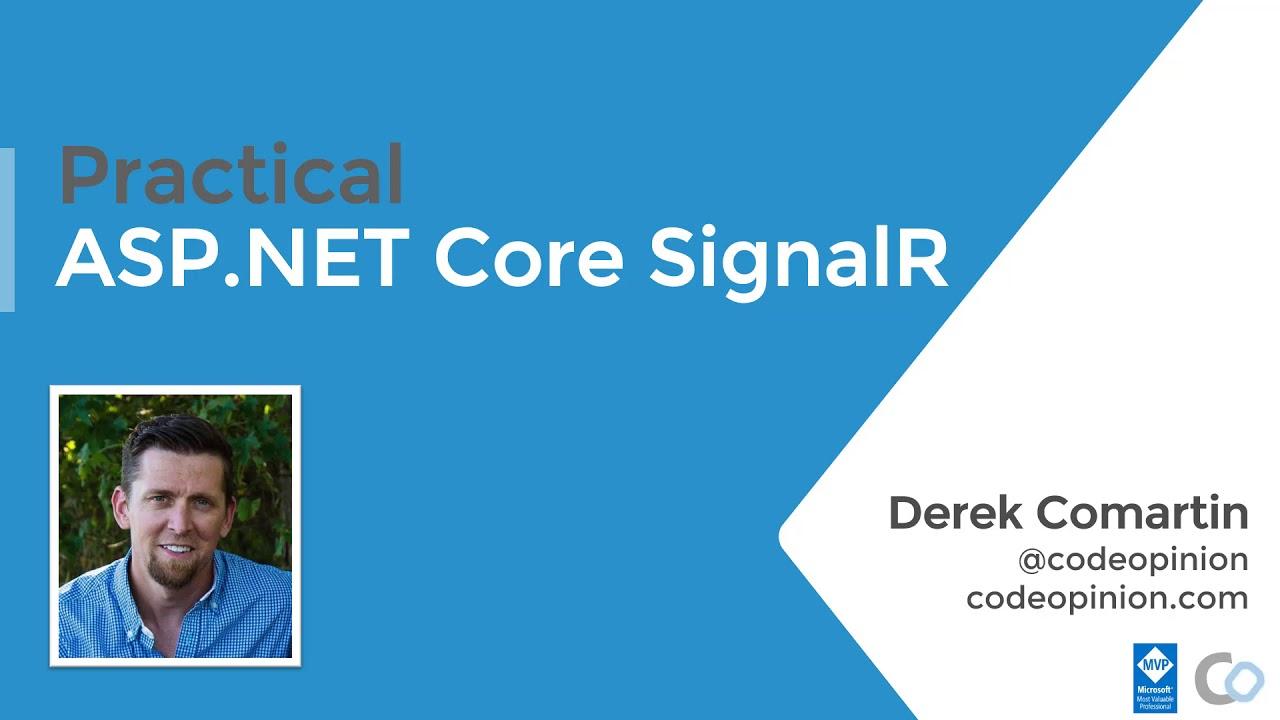 Practical ASP.NET Core SignalR   Intro