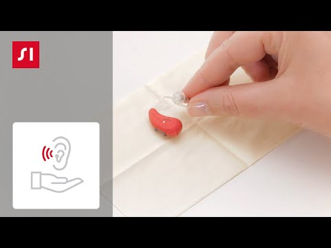 How to clean a Signia BTE (Behind-The-Ear) hearing aid | Signia Hearing Aids