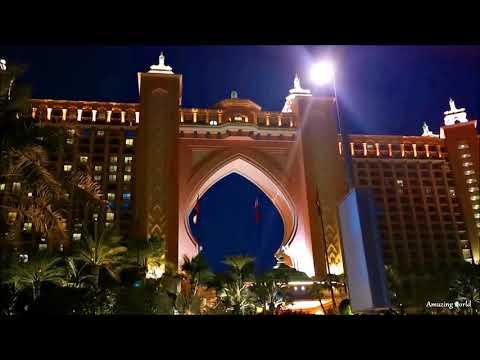 Dubai Night Drive /2020/  Atlantis Hotel/ Jumeirah /Dubai Down Town