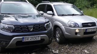 Dacia Duster vs Hyundai Tucson 2007 Offroad