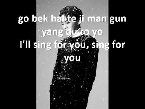 EXO - Sing For You Lyrics [EASY LYRICS]