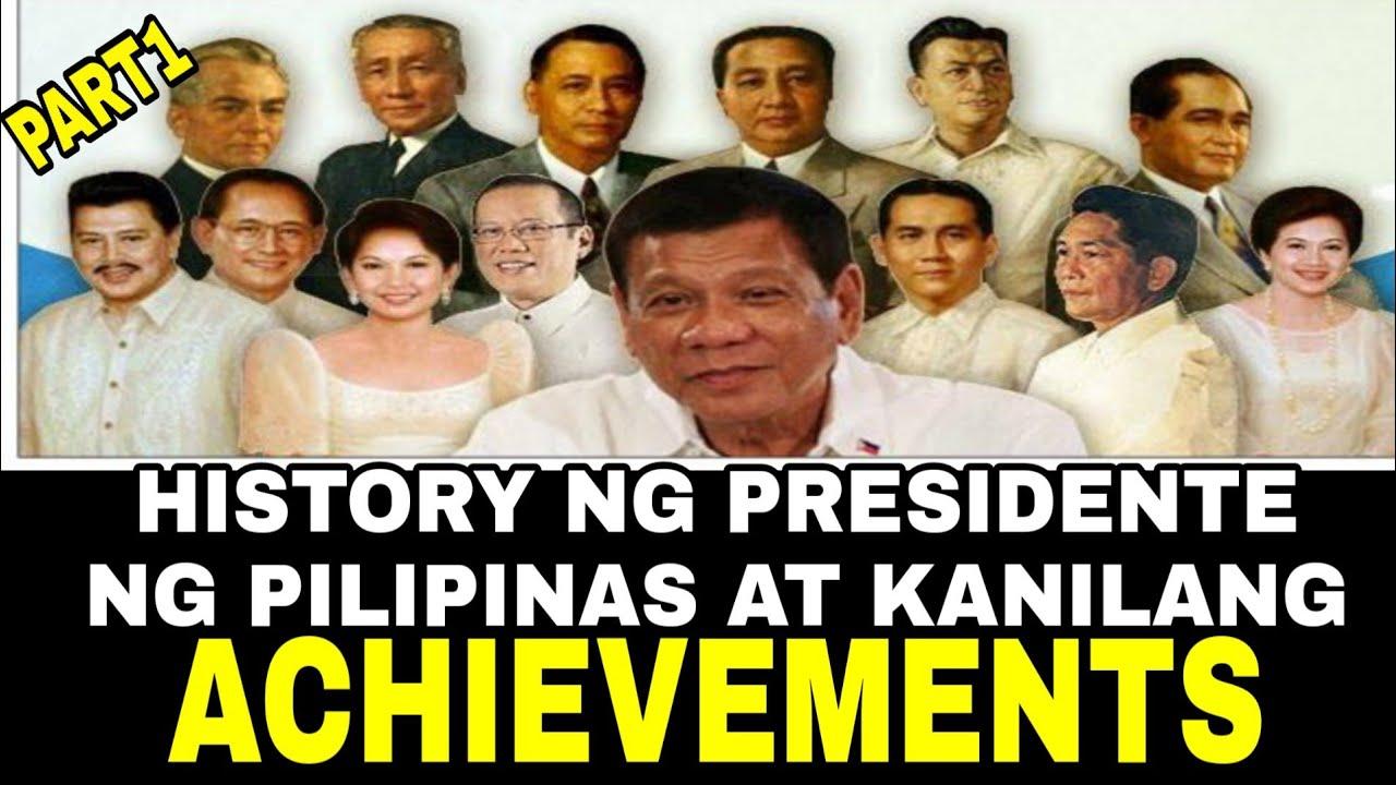 Naging pangulo ng pilipinas mga Panuto: Gumawa