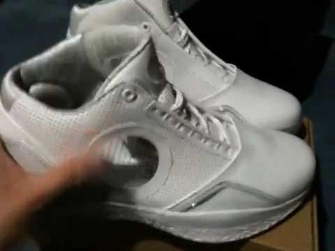 Nike Air Jordan 2010 Anniversary White Metallic Silver - YouTube e3024b87a