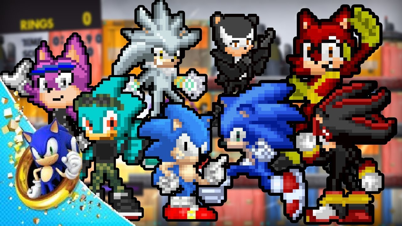 Sonic Forces 2D Android APK - UPDATE 6