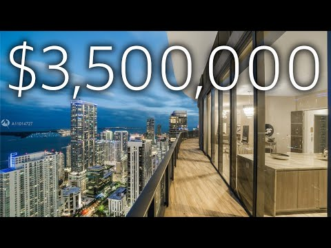 LUXURY $3,500,000 MIAMI PENTHOUSE WITH PRIVATE ROOFTOP POOL!