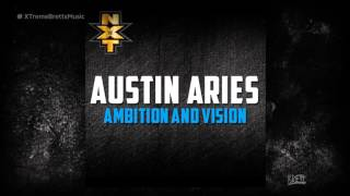 "WWE: ""Ambition and Vision"" [iTunes Release] by CFO$ ► Austin Aries NEW Theme Song"