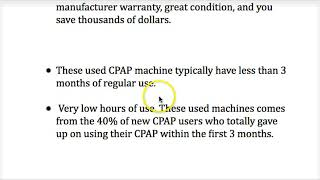 When Does Buying A Used CPAP Machine Make Sense  You Will Be Shocked & Thrilled!