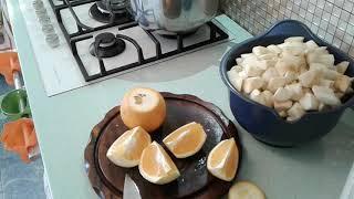 Варенье яблочно-апельсиновое-аромааааатное!!!