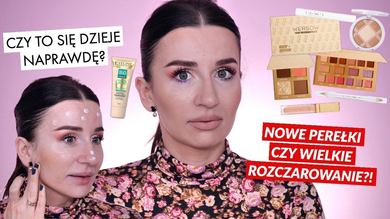 Test Nowości Makeup Obsession x Wersow, Eveline i NAM! CO TU SIĘ WYDARZYŁO!