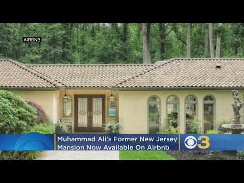 Muhammad Ali's Former New Jersey Mansion Now Available On Airbnb