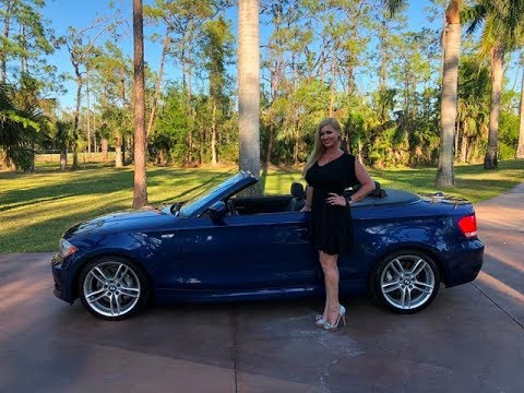 SOLD! 2013 BMW 135i Convertible, M-sport PKG. For Sale By Autohaus Of Naples 239-263-8500