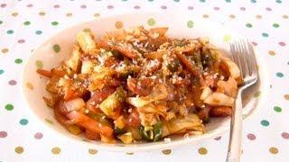 Stir-fried Cabbage Neapolitan (napolitan) Recipe キャベツのナポリタン炒め レシピ