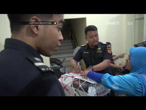 Menyelundupkan Narkoba di Sepatu, Kurir Sabu Tertangkap di Tanjungpinang - Customs Protection