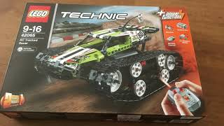 LEGO 42065 RC Tracked Racer - timelapse build