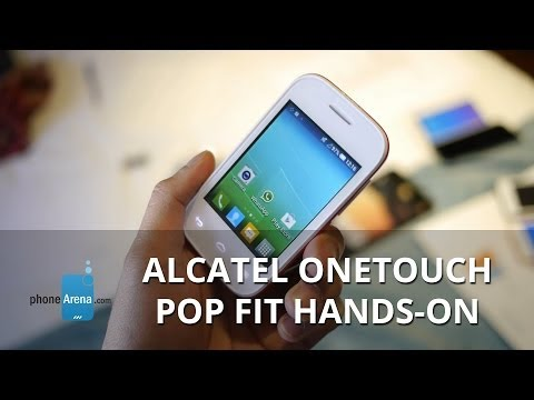 "Alcatel OneTouch Pop Fit hands-on: the fitness ""wearable"" smartphone"