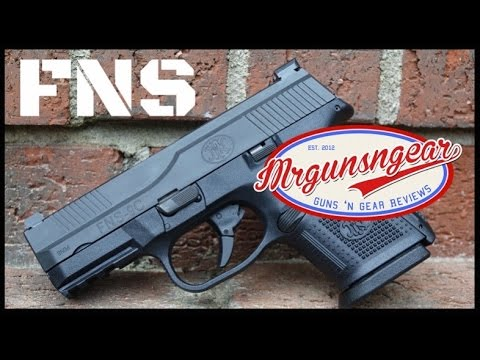 How To Clean And Lubricate A FN Herstal FNS Pistol (HD)