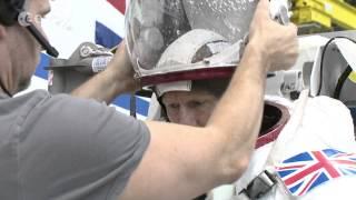 ESA astronaut Tim Peake spacewalk training