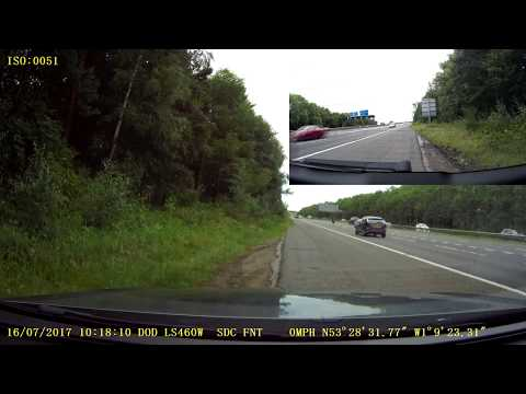 UK Dash Cam - Audi TDI turbo failure runaway diesel (previously mystery break down)