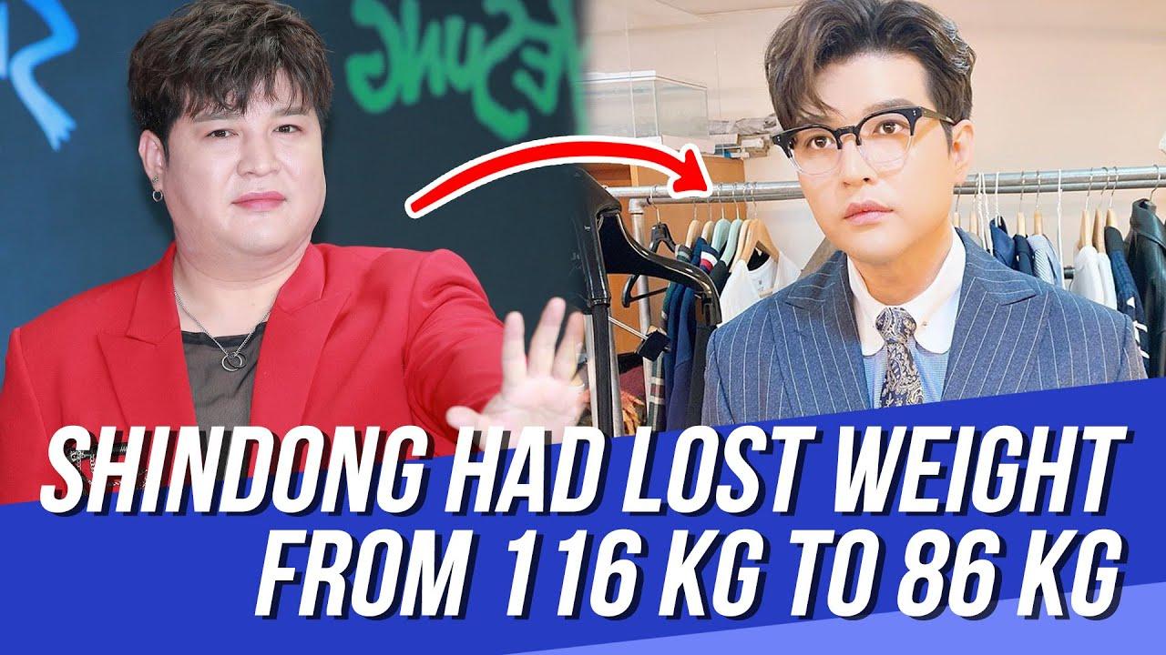 super junior shindong pierde in greutate