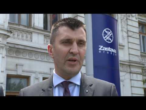 "Ministar odbrane u ""Zastava oružju"" - Ministar odbrane Zoran Đorđević"