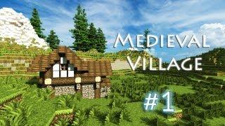 minecraft village medieval build building simple designs houses layout