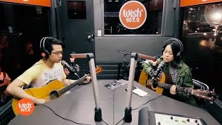 "Jensen Gomez & Reese Lansangan sing ""Maybe"" LIVE on Wish 107.5 Bus"