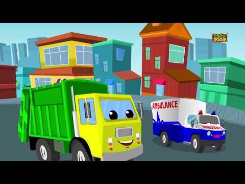 Vehicle Songs! | Buses, Cars, Trains, Boats Plus Lots More Nursery Rhymes | Ditcu TV
