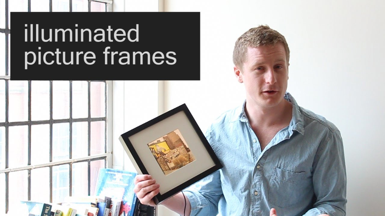 How to make: \'Intelligently\' Illuminated Photo Frames : Part 1 - YouTube