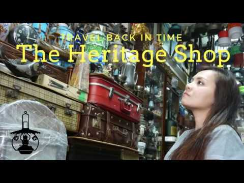 The Heritage Shop in Jalan Sultan, Antique & Collectables