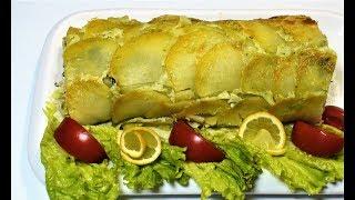 Что приготовить на ужин. Рулет с картошкой с сыром