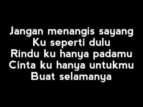 Jangan Menangis Sayang lyrics