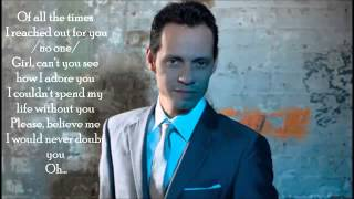 Marc Anthony - No One (Con Letra