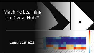 Oil and Gas Data Science Series: Machine Learning on Digital Hub™