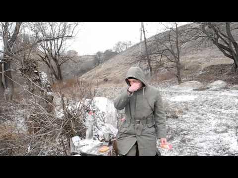 Родник и замерзающая река)